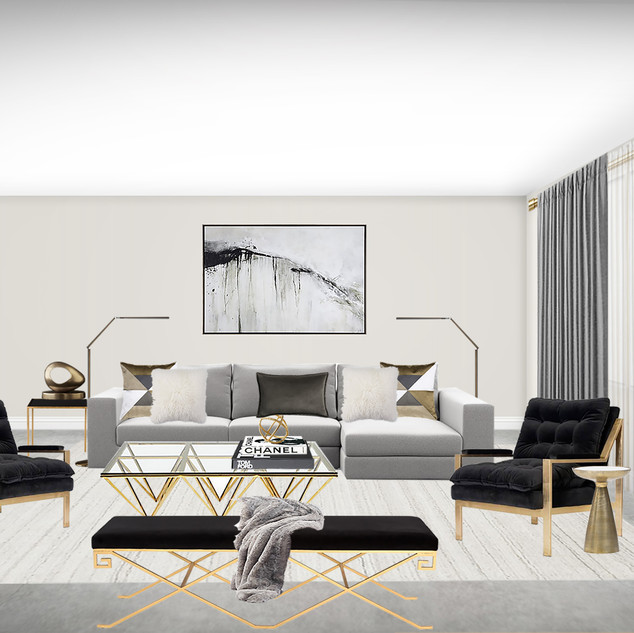 Living Room Design Australia,