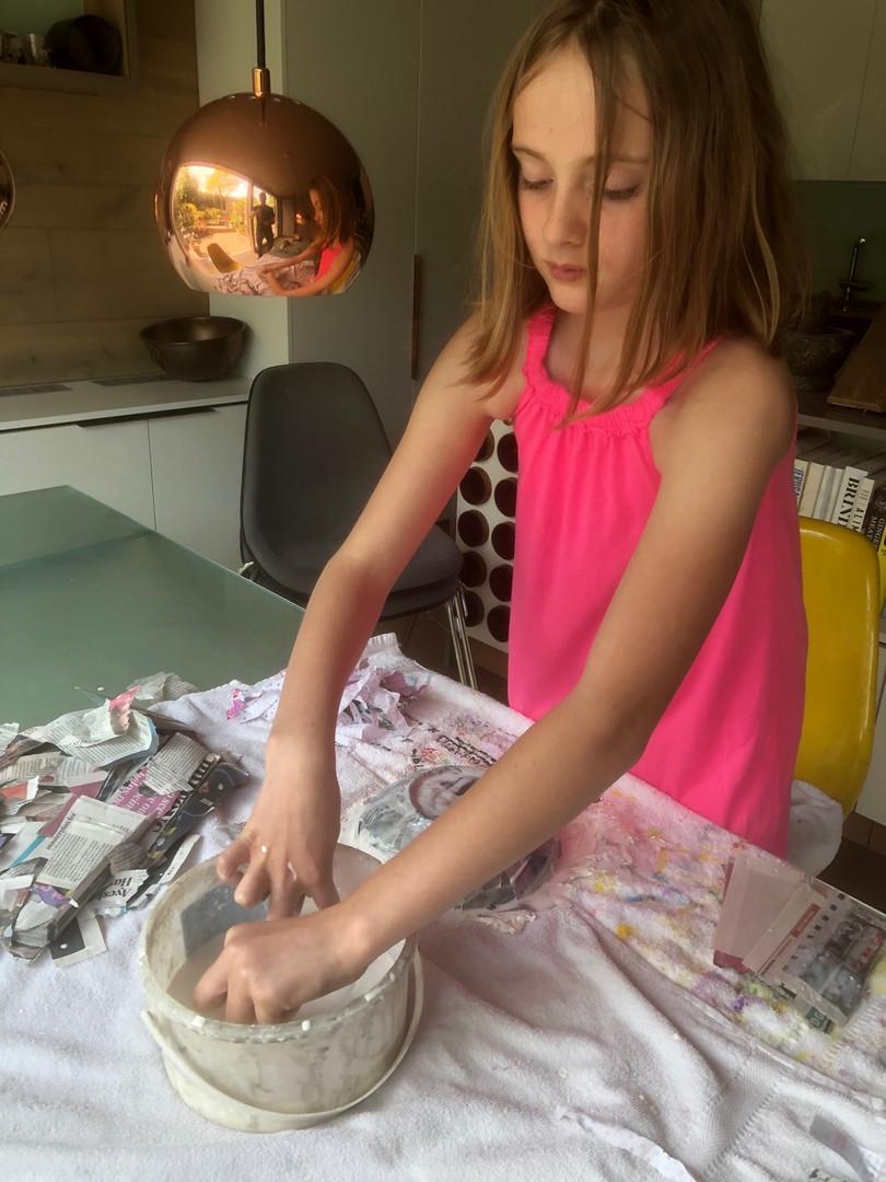 art - fabric  papier mache bowl 1.jpeg