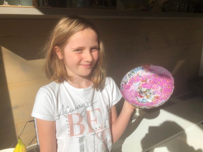 art - fabric  papier mache bowl 4.jpeg