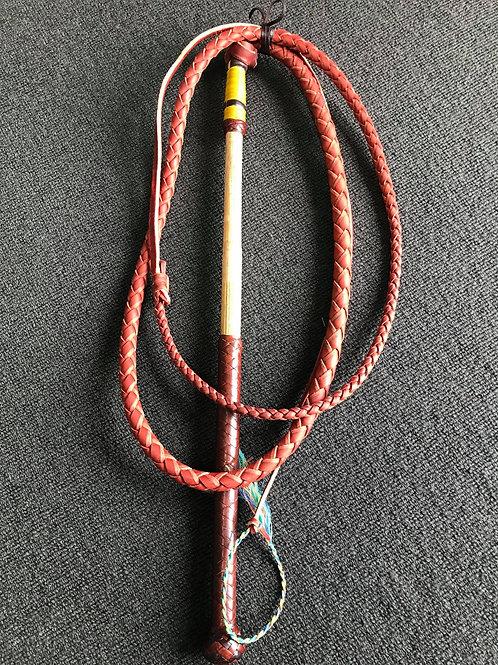 5'7 Redhide Stockwhip