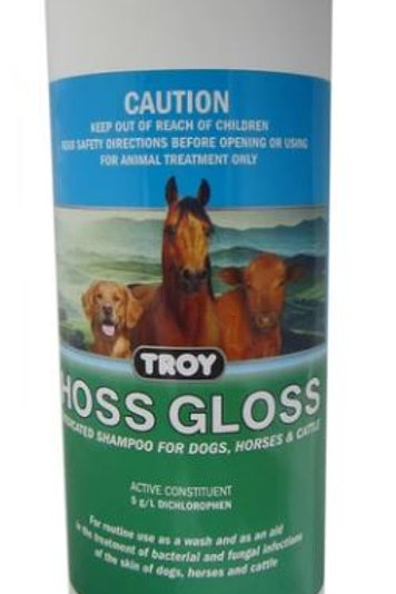 Hoss Gloss Medicated Shampoo