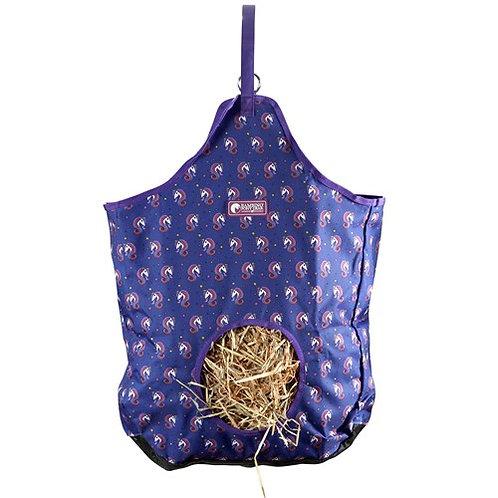 Navy Unicorn Hay Bag
