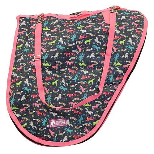 Bambino Navy Unicorn Saddle Bag