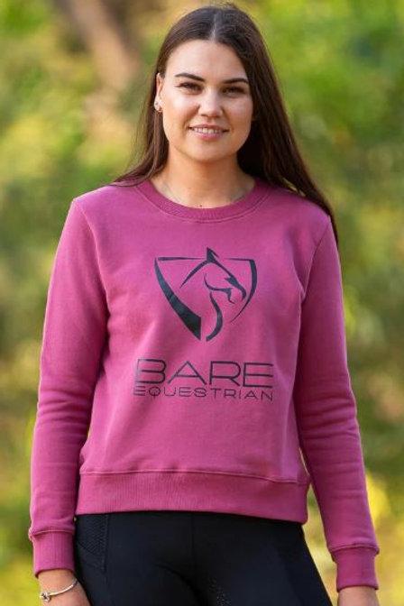 BARE Sweater - Washed Burgandy