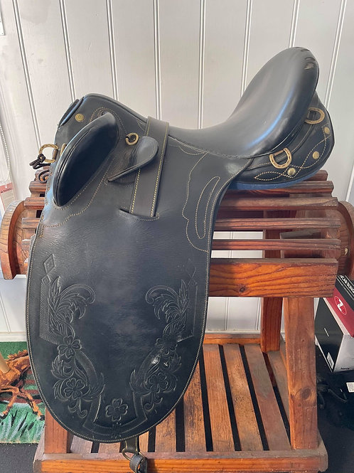 "17"" Marshall Poley Stock Saddle"