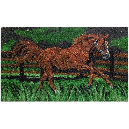Galloping Horse Door Mat