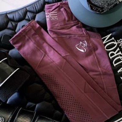 BARE Performance Tights - Burgandy