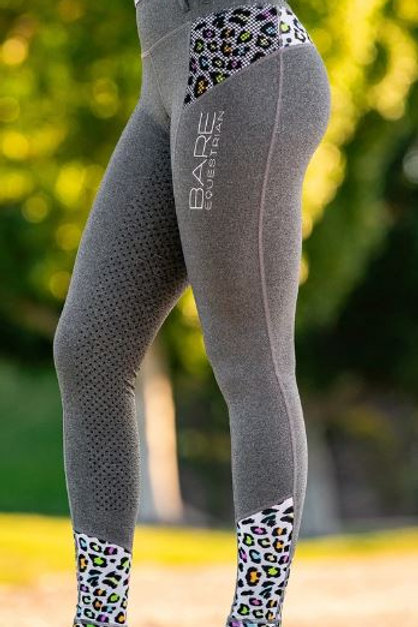 BARE Youth performance Tights - Neon Jungle