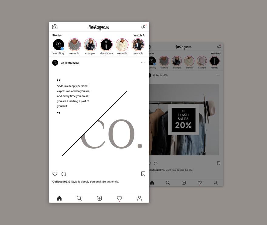 Instagram Collective 233 Identity Creato