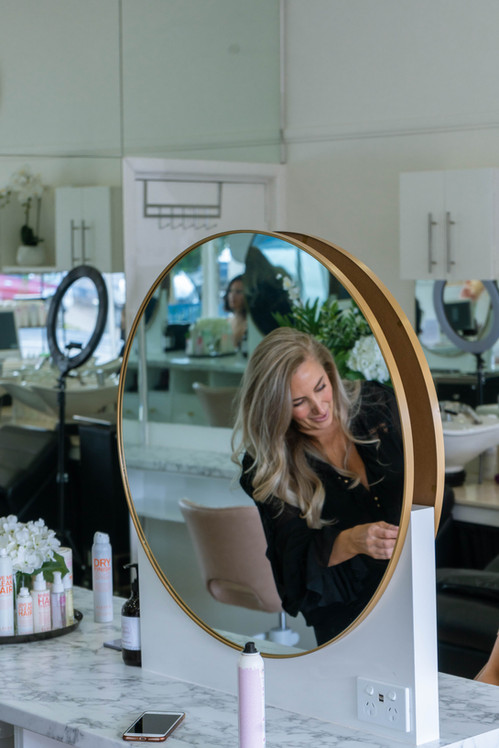 Rose Carbone Hairdresser - Identity Crea