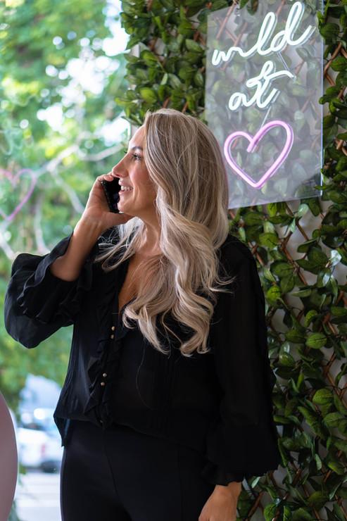 Rose Carbone on the phone.jpg
