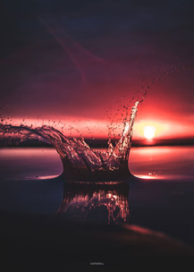 Splash Sunset