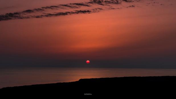 Orange Sunset B