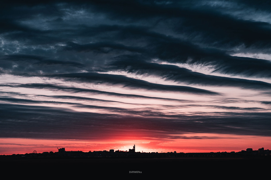 Sunset Royan