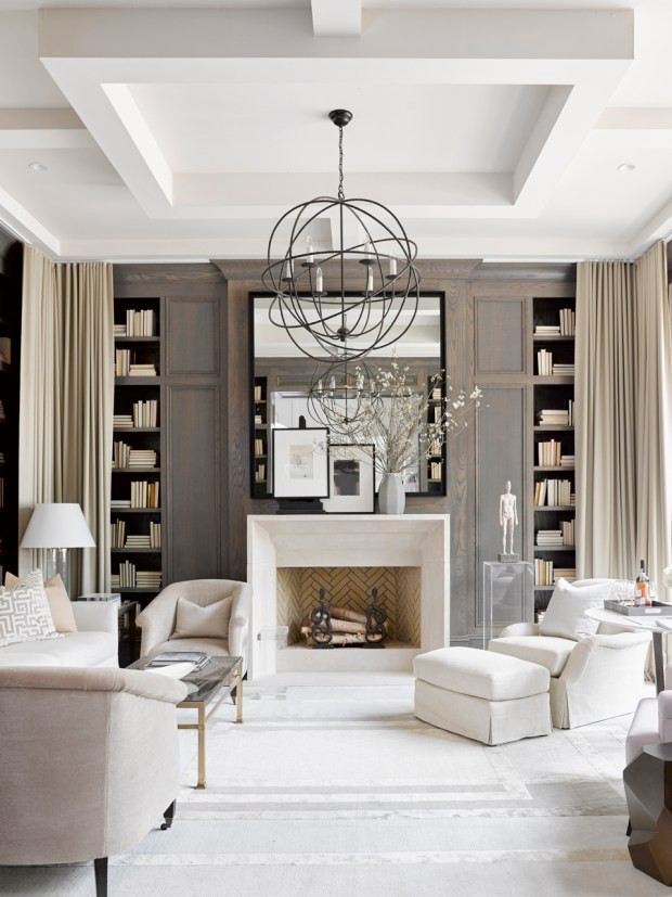 Here They Have Styled The Fireplace Really Well, And Even Though There Are  Multiple Seating Groups In The Larger Room, Everything Still Feels Focused  On The ...
