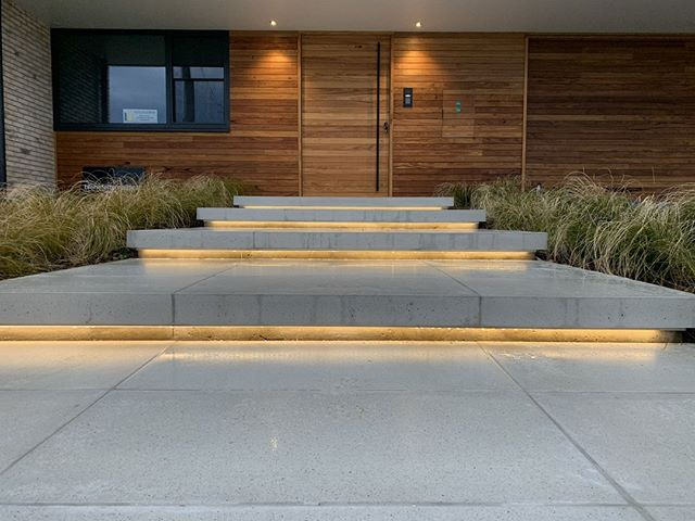 Step Lighting Front Entrance