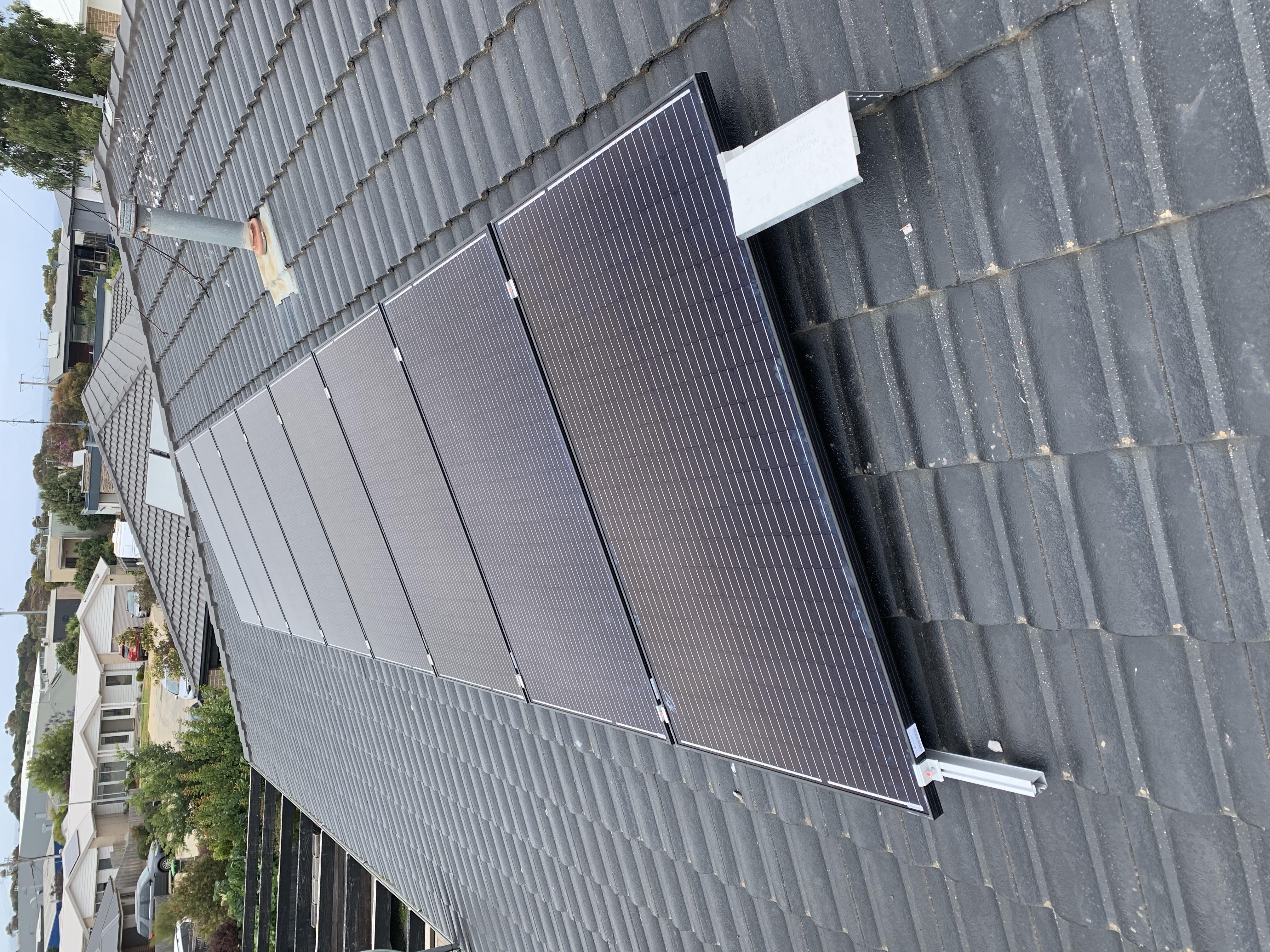 Surf Coast Solar Panel Install