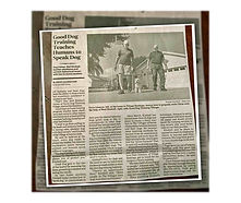 Good Dog Training newspaper Article-1-co