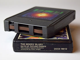 old 8 track tapes copied to CD