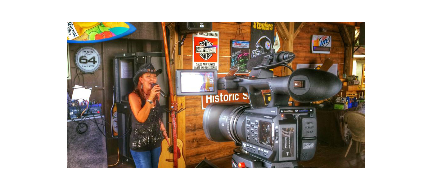 On-location videotaping