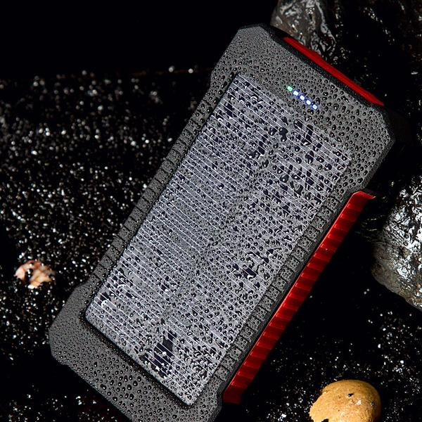 Waterproof Solar Battery Charger for Phones and Cameras
