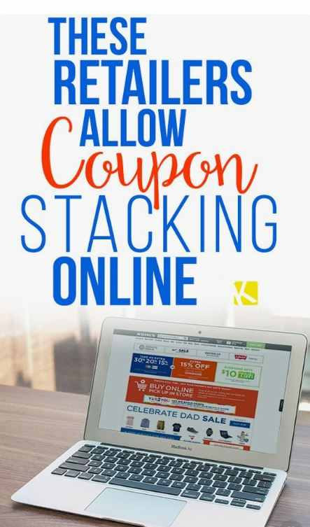 Learn how to stack coupons