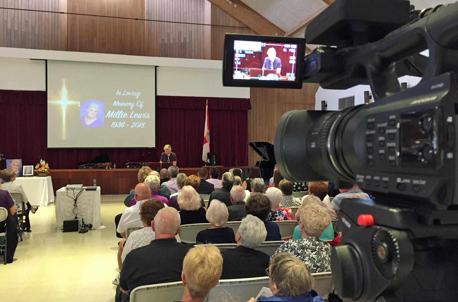 Videotaping Memorial Services