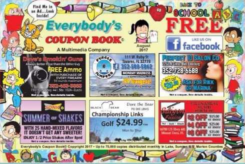 E\Lake county Coupon Book