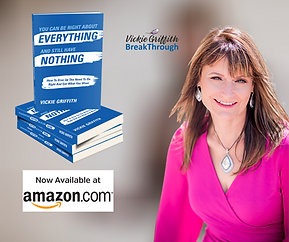 Author Vickie Griffith of Break-Through