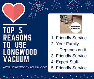 Longwood Vacuum, Eustis, Florida, Sweeper repairs