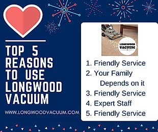 Longwood Vacuum, Eustis, Florida, Sweeper repairs