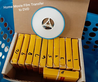 Film Transfer Movie Reels to DVD