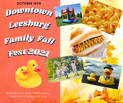 Fall Family Festival Oct 16th 2021