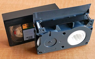 VHS-C tapes to DVD