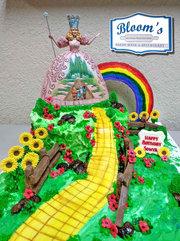 Wizard of Oz - Custome Birthday Cake