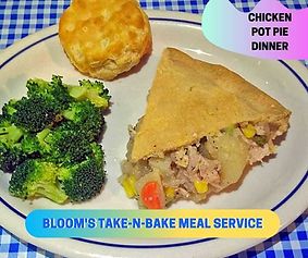 Take-NBake Meal Delivery Service