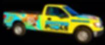 United Pools Inc Maintenanc Truck