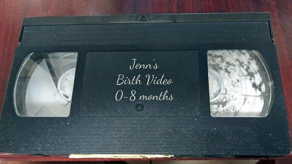 Videotapes become moldy before they become brittle and lose their signal.