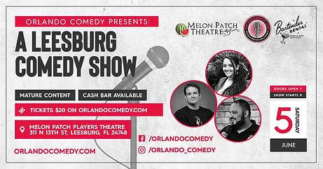 Mellon Patch Comedy Show June 5, 2021