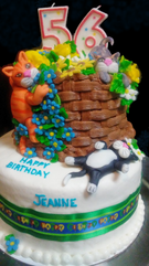 Birthday cakes for special years