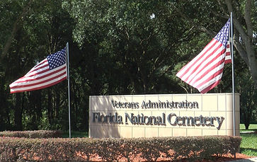 Florida National Cemetary, Bushnell Florida