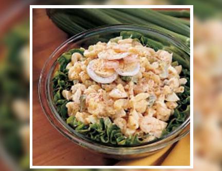 Seafood Macaroni Salad
