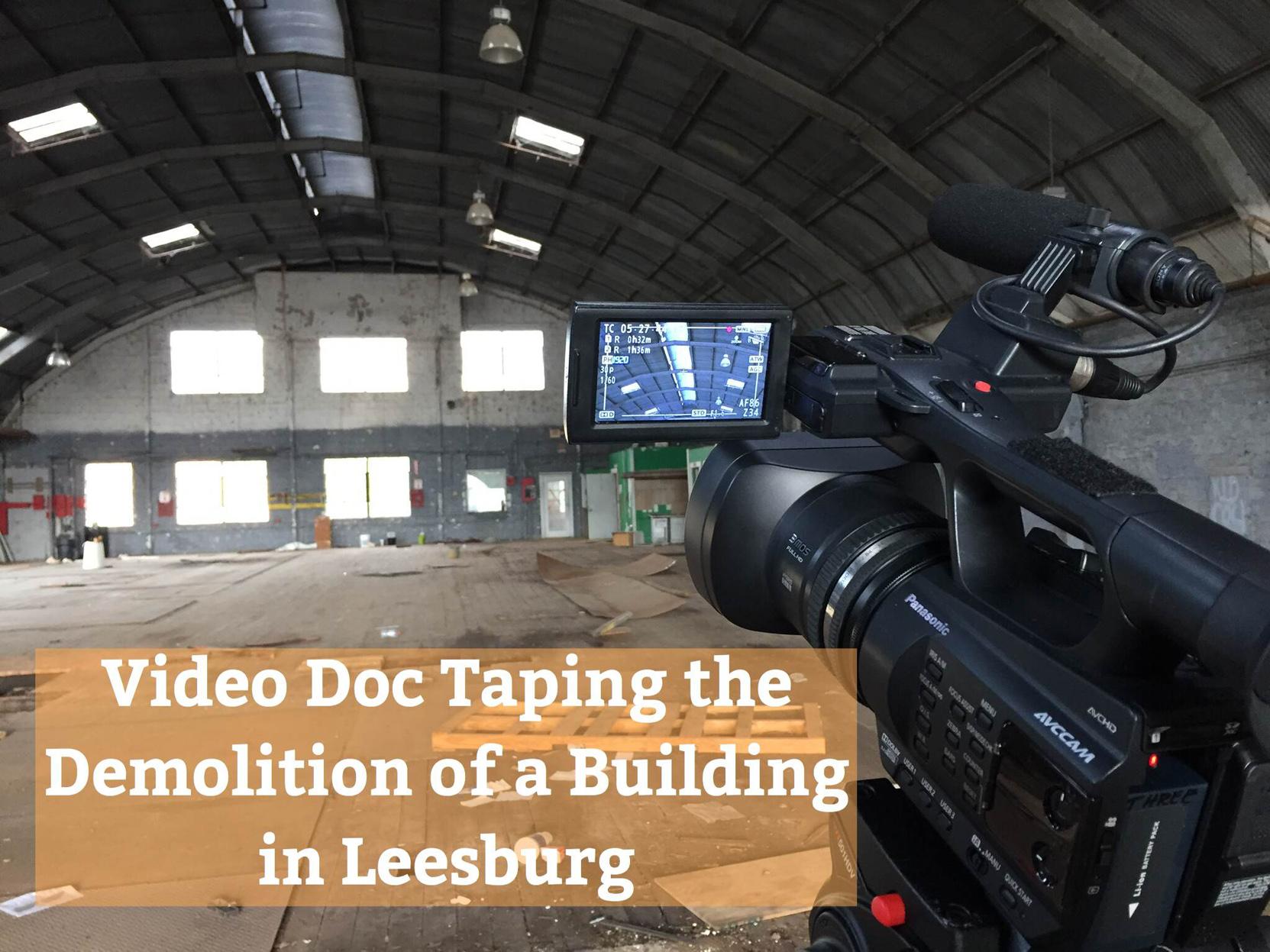 Videotaping Building Demo