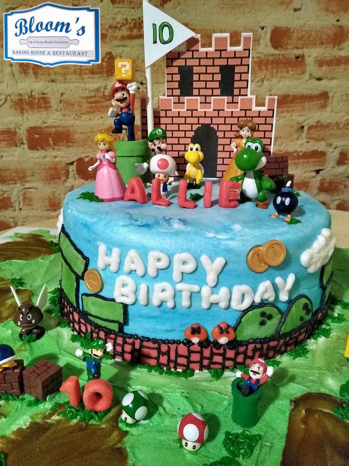 3D Super-Mario Birthday Cake