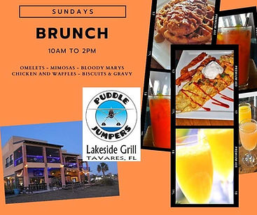 Sunday Brunch Promo Puddle Jumpers Tavares