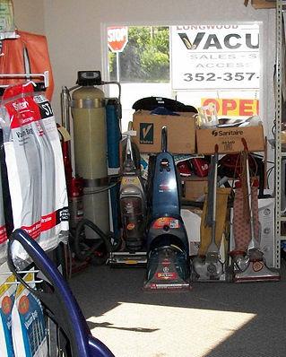 Sweeper, Vacuum Repairs   Longwood Vacuum  Longwood/Eustis, FL, Lockhart, Altamonte Springs,