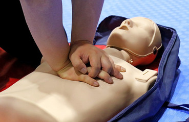 Hands Only CPR Instruction