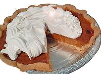 Pumpkin Pie by Bloom's Baking House