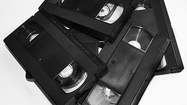 VHS Videotapes withhome videos