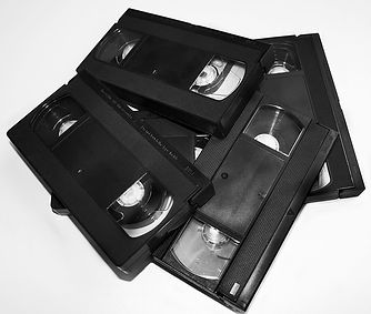 VHS, VHS-C, 8mm Video tapes